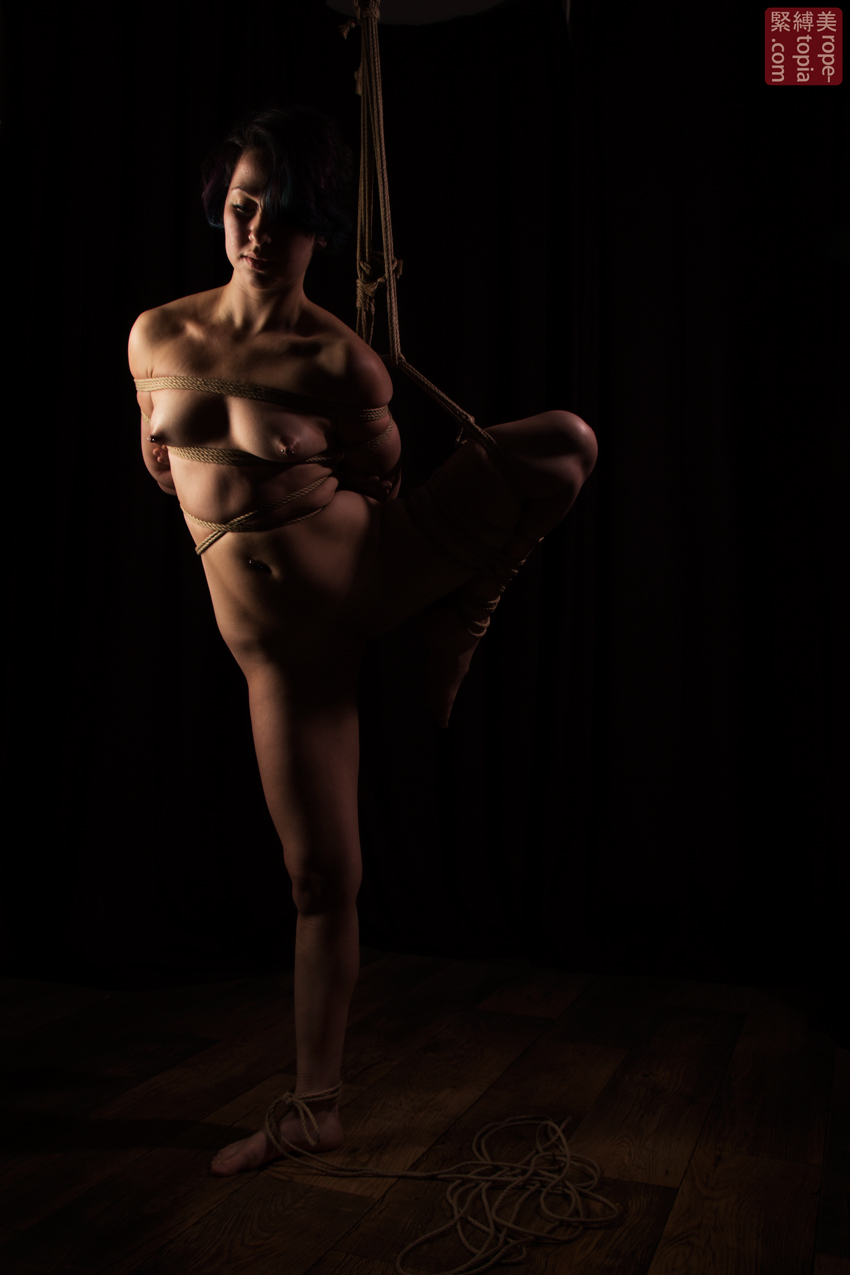 Fuoco Shibari Suspension Bondage Session Rope By Wykd Dave Photography Clover Brook 003