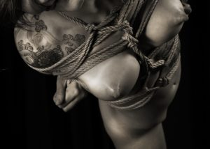 Adreena Winters Shibari Bondage Session Rope By Wykd Dave Photography Clover Brook 06
