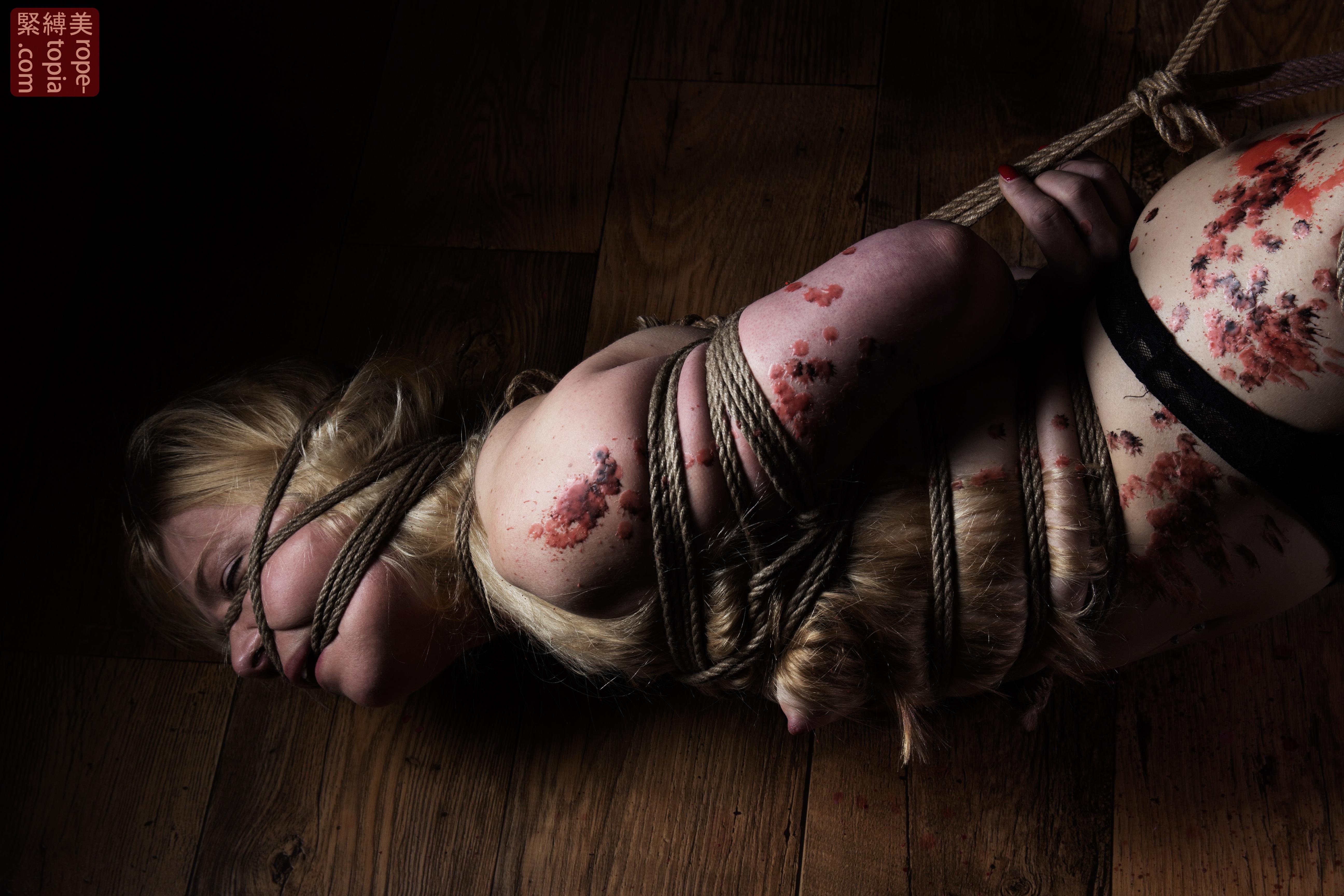 Iongantas Shibari Bondage Session Rope By Wykd Dave Photography Clover Brook 001