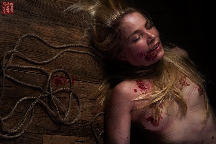 Iongantas Shibari Bondage Session Rope By Wykd Dave Photography Clover Brook 005