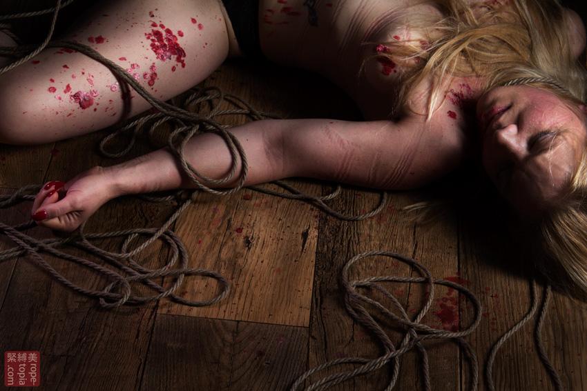 Iongantas Shibari Bondage Session Rope By Wykd Dave Photography Clover Brook 006