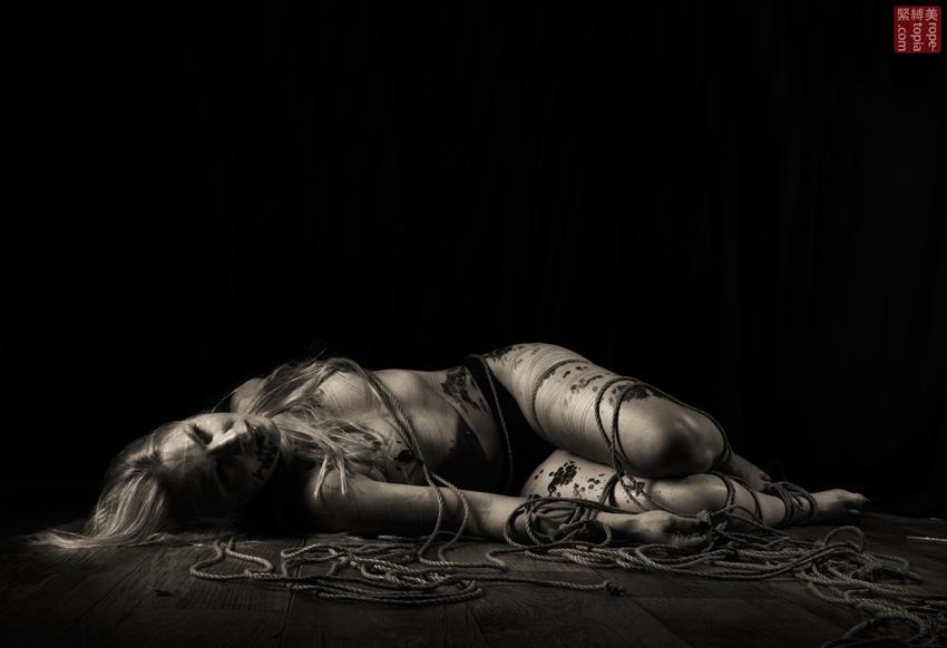 Iongantas Shibari Bondage Session Rope By Wykd Dave Photography Clover Brook 007