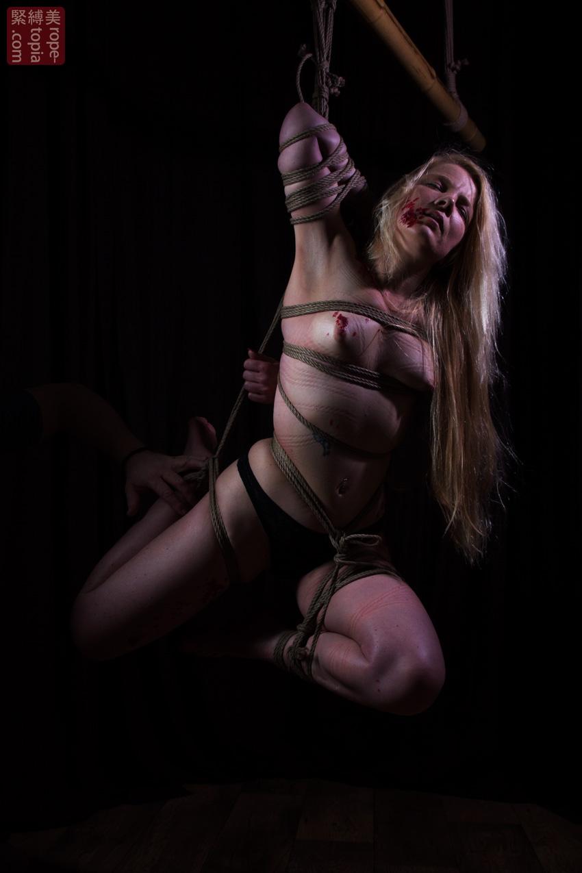 Iongantas Shibari Bondage Session Rope By Wykd Dave Photography Clover Brook 008