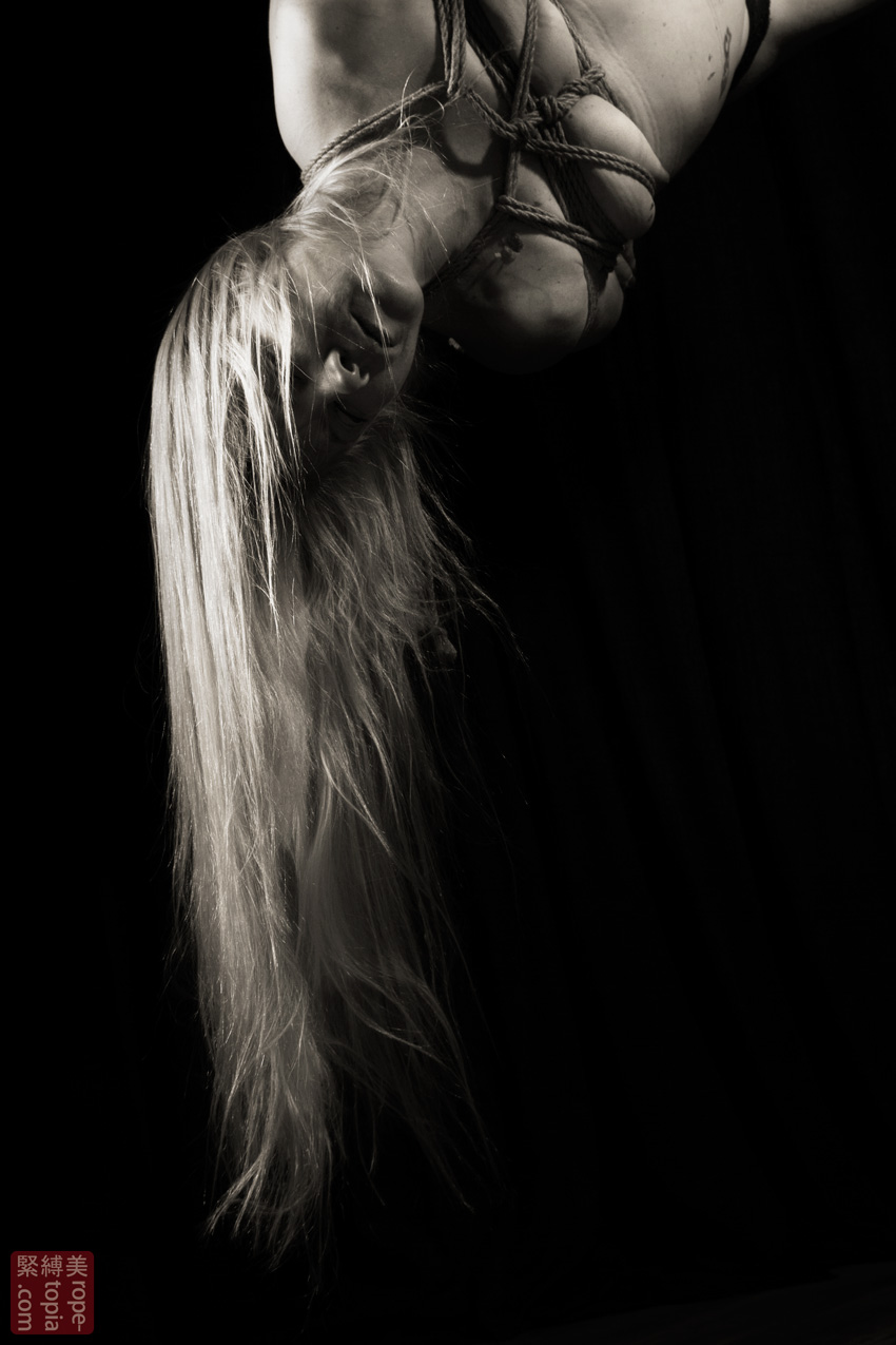 Iongantas Shibari Bondage Session Rope By Wykd Dave Photography Clover Brook 009