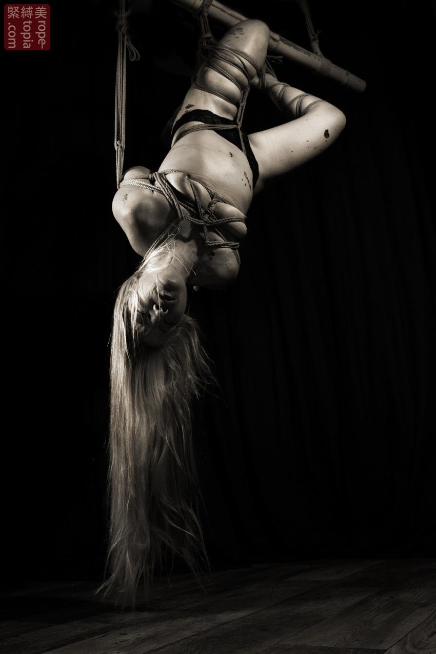 Iongantas Shibari Bondage Session Rope By Wykd Dave Photography Clover Brook 010