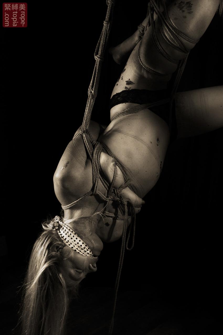 Iongantas Shibari Bondage Session Rope By Wykd Dave Photography Clover Brook 012