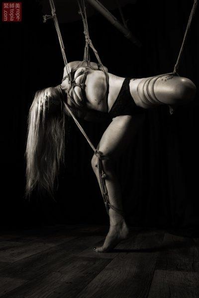 Fuoco Shibari Suspension Bondage Session Rope By Wykd Dave Hdpornstarz 1