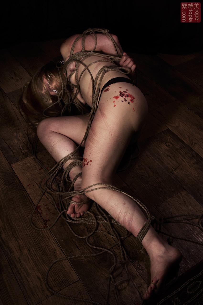 Iongantas Shibari Bondage Session Rope By Wykd Dave Photography Clover Brook 015