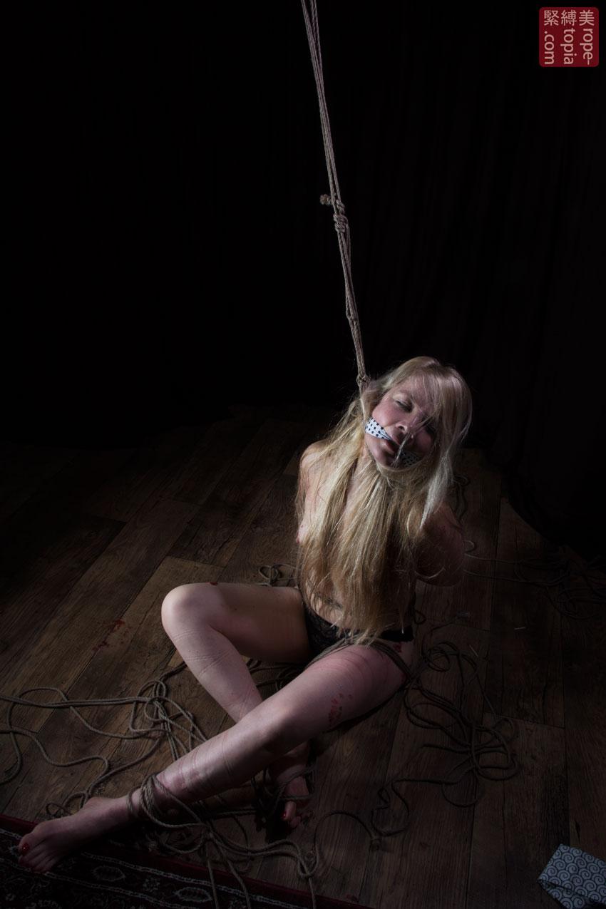 Iongantas Shibari Bondage Session Rope By Wykd Dave Photography Clover Brook 018