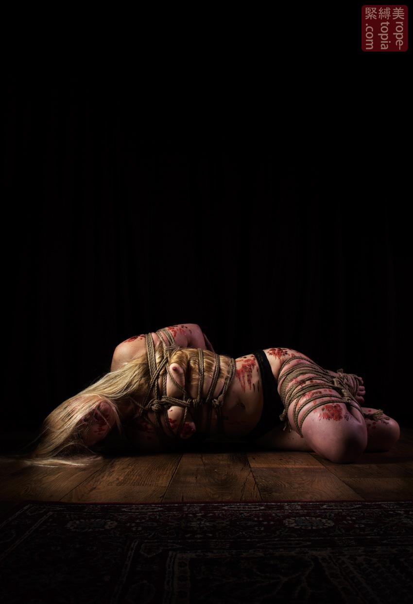 Iongantas Shibari Bondage Session Rope By Wykd Dave Photography Clover Brook 021