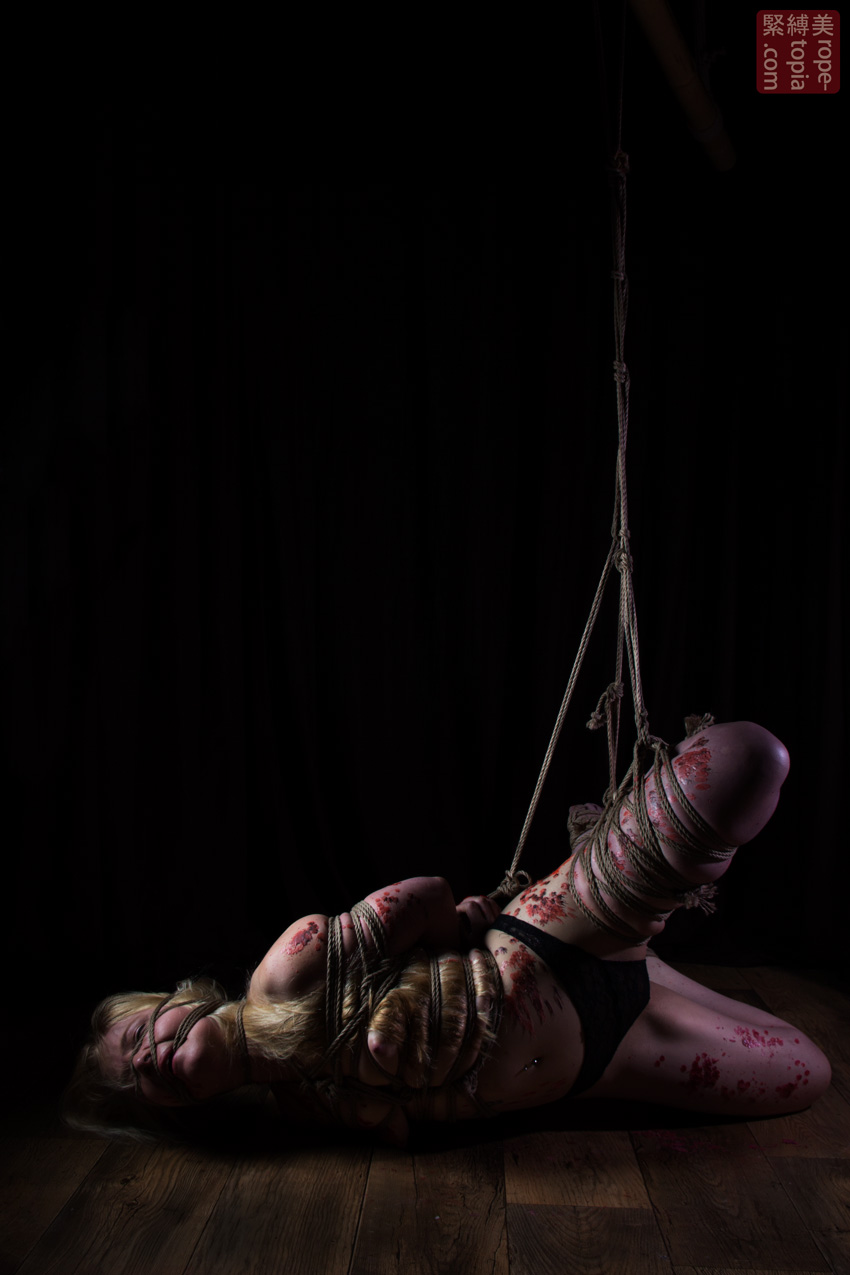 Iongantas Shibari Bondage Session Rope By Wykd Dave Photography Clover Brook 024