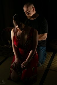 Clover Brook And Wykd Dave Shibari Bondage Session Rope By Wykd Dave Photography Scarlot Rose 03