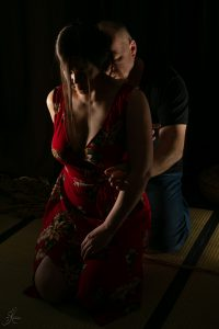 Clover Brook And Wykd Dave Shibari Bondage Session Rope By Wykd Dave Photography Scarlot Rose 04