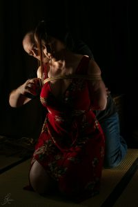 Clover Brook And Wykd Dave Shibari Bondage Session Rope By Wykd Dave Photography Scarlot Rose 10