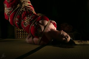 Clover Brook And Wykd Dave Shibari Bondage Session Rope By Wykd Dave Photography Scarlot Rose 20