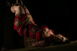 Clover Brook And Wykd Dave Shibari Bondage Session Rope By Wykd Dave Photography Scarlot Rose 21