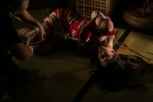 Clover Brook And Wykd Dave Shibari Bondage Session Rope By Wykd Dave Photography Scarlot Rose 25