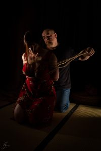 Clover Brook And Wykd Dave Shibari Bondage Session Rope By Wykd Dave Photography Scarlot Rose 32