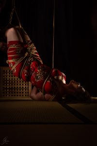 Clover Brook And Wykd Dave Shibari Bondage Session Rope By Wykd Dave Photography Scarlot Rose 39