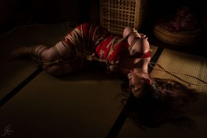 Clover Brook And Wykd Dave Shibari Bondage Session Rope By Wykd Dave Photography Scarlot Rose 40